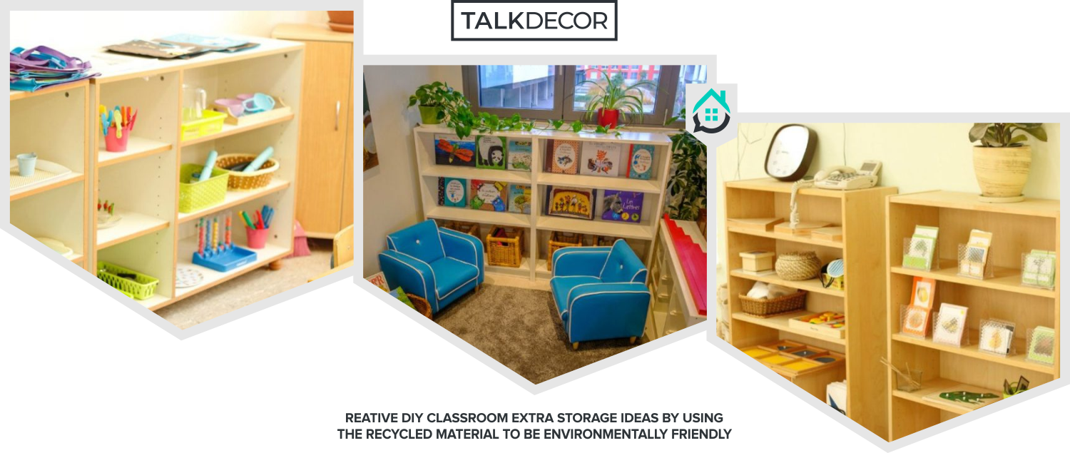 20 Creative DIY Classroom Extra Storage Ideas by Using the ...