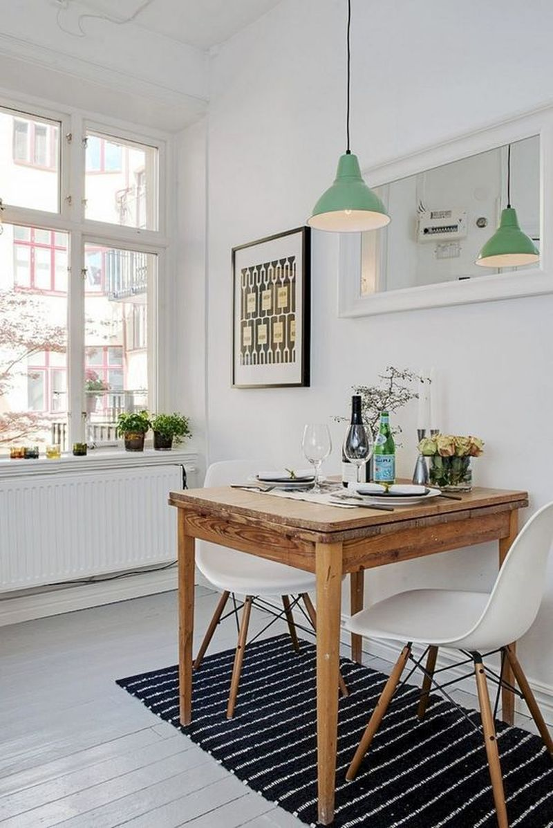 9 Amazing and Simple Dining Room Decor for Compact Houses ...