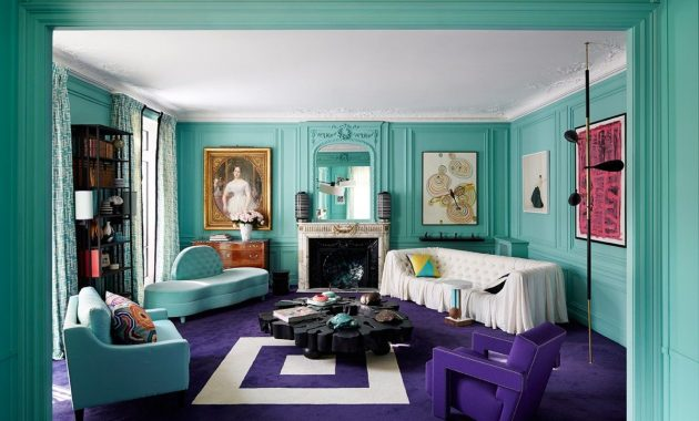 Art Deco-Style House Designs for a Fun and Colorful Junkie