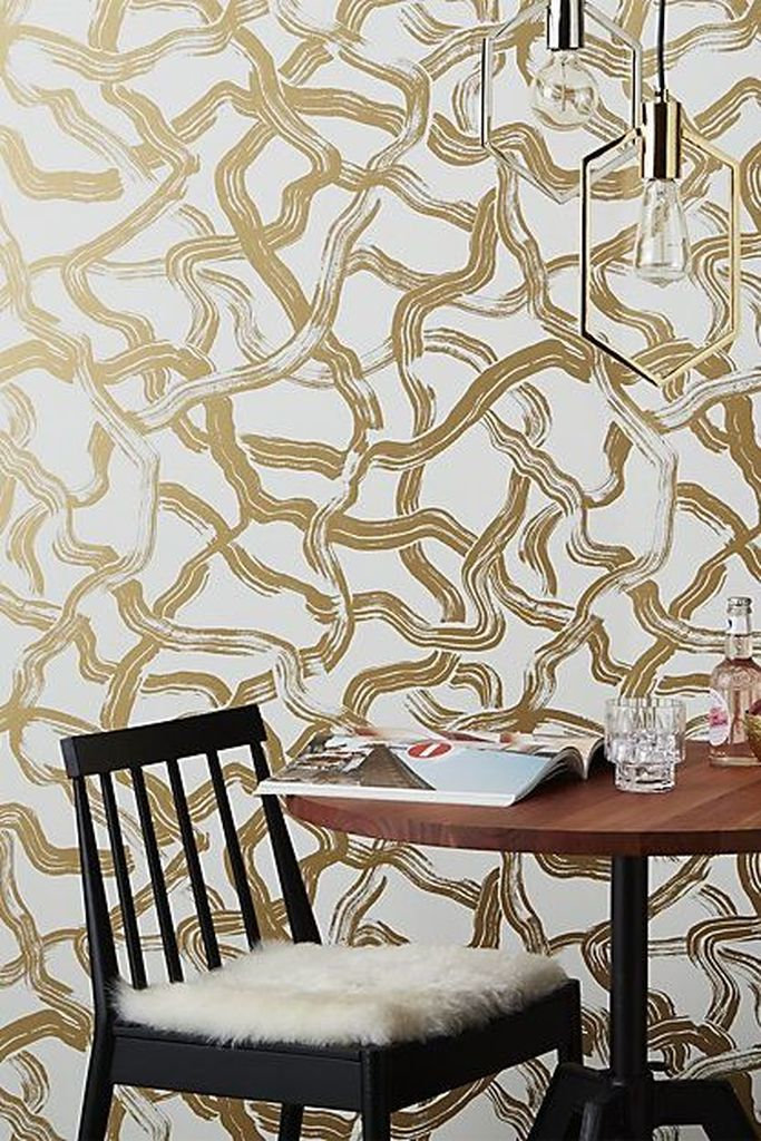 20 Beautifully Smooth Streamlined Walls Designed By: 20 Proper Wallpaper To Beautify Your Home Wall Decoration