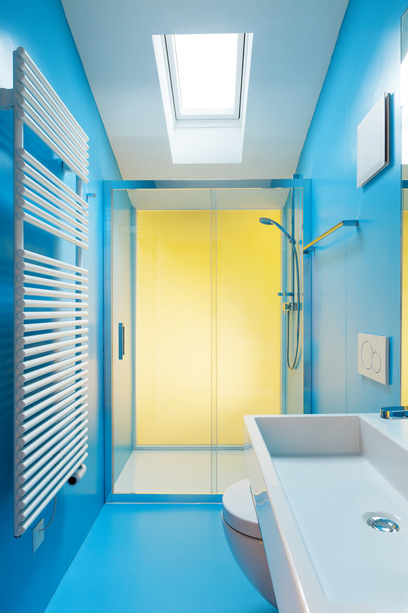 15 bathroom color schemes that are relaxing  talkdecor