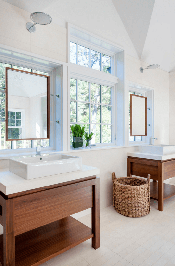 27 Bathroom Mirror Ideas For Different Effect Talkdecor