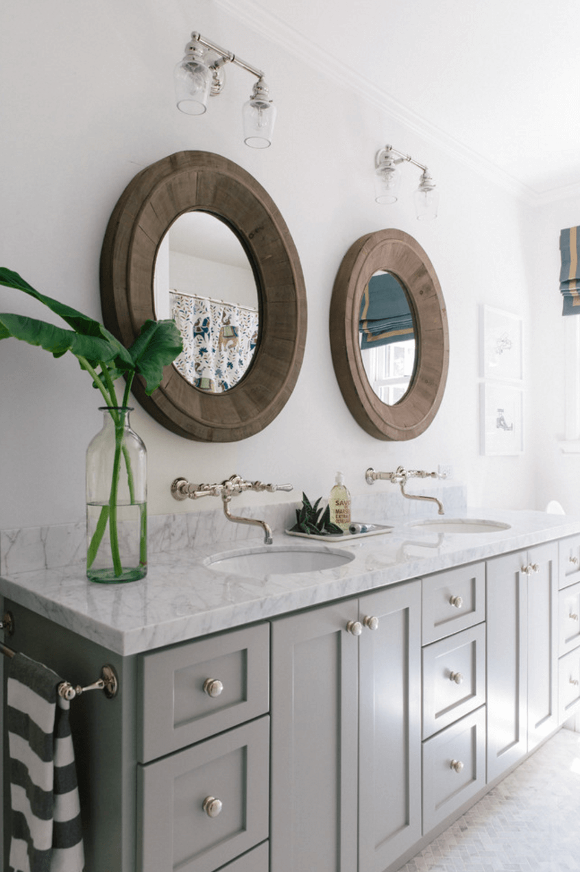 27 Bathroom Mirror Ideas For Different Effect Talkdecor