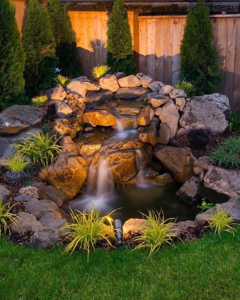 10 Diy Garden Pond Waterfall For Your, Diy Garden Pond Waterfall