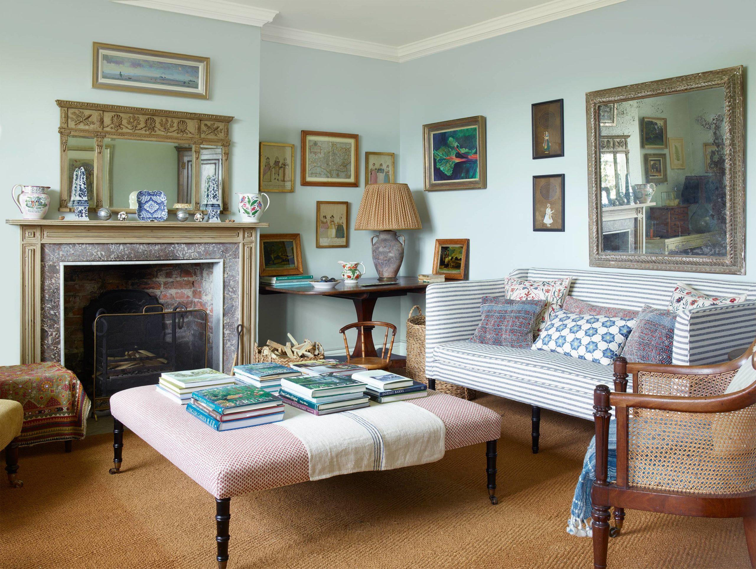 10 Cozy Country Living Room Decor Ideas - Talkdecor
